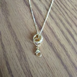 Origami Owl Gold Crystal Clasp